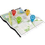 servico agricola de calculo de area rural, coordenadas geograficas
